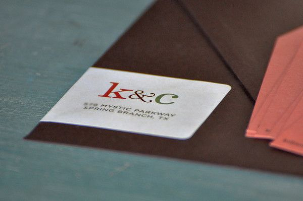 amplop cokelat yang sangat mengesankan untuk kartu undangan pernikahan kamu