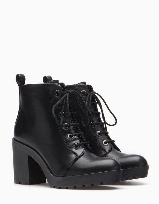 At Stradivarius you'll find 1 Lace up ankle boots for woman for just 39.95 € . Visit now to discover this and more ALL.