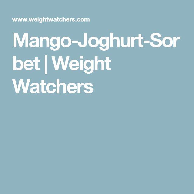 Mango-Joghurt-Sorbet | Weight Watchers