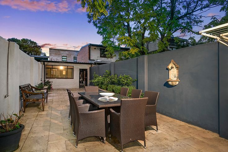 Grand terrace on deep block with garage - 93 Johnston Street Annandale at Pilcher Residential