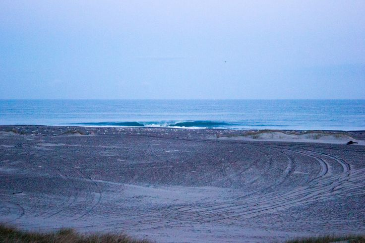 Vorupör, Denmark- little waves in the early morning