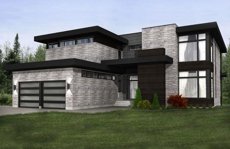 maison moderne - Recherche Google                                                                                                                                                                                 More
