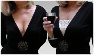 When you need some quick cleavage coverage or can be worn over midriff as shirt extender to cover stomach & muffin-tops.Ideas, Extra Coverage, Camiband