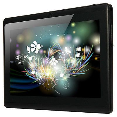 "7"" A33 Google Android 4.4 Quad Core Dual Camera 8GB Tablet PC WiFi Bluetooth"