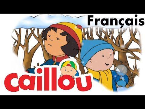 Caillou FRANÇAIS - Flocons de neige (S04E06) - YouTube