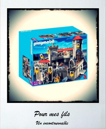 Les 25 meilleures id es de la cat gorie chateau fort for Playmobil 4865 prix