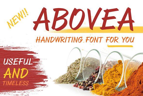 ABOVEA - Desktop Font & WebFont - YouWorkForThem