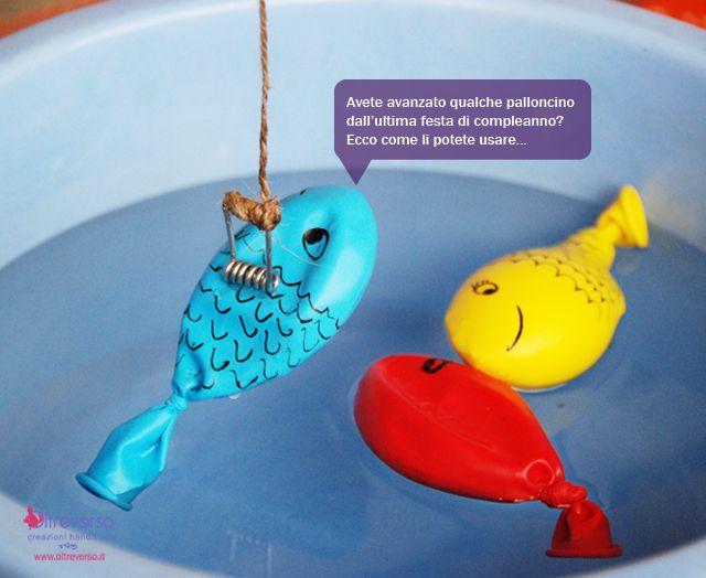 La Stampa - Giochi d'acqua: a pesca di palloncini * a magnet inside the balloon.