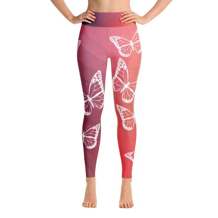 Yoga Butterfly Leggings