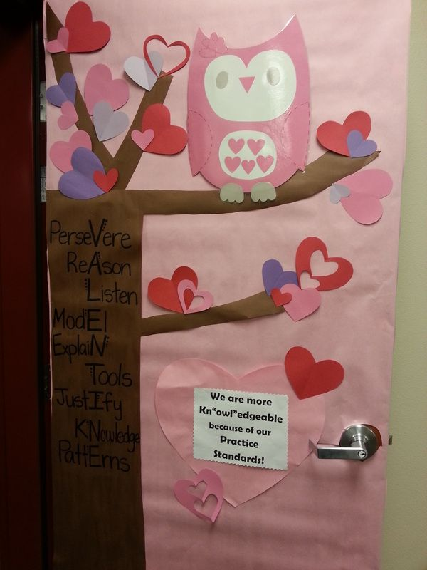 Classroom Decoration For Valentines ~ Best ideas about owl classroom door on pinterest