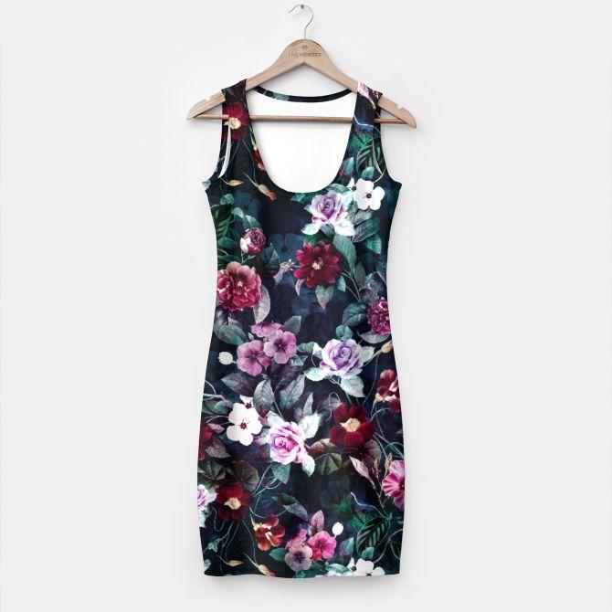 Secret Garden  Simple Dress #fashion #style #trend #botanical #floral #dress