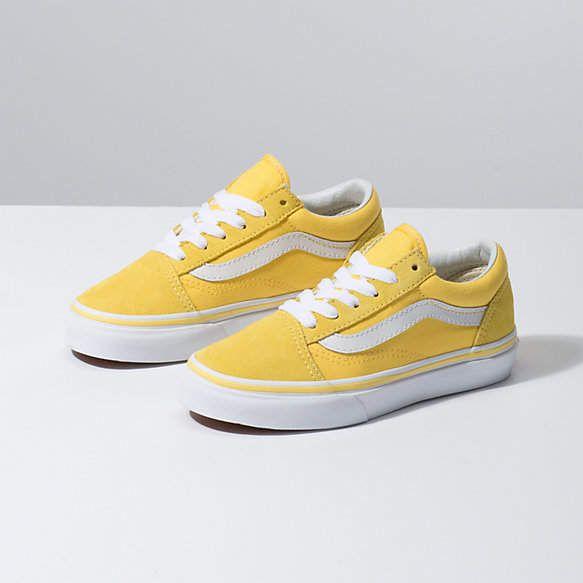 vans amarillo pastel