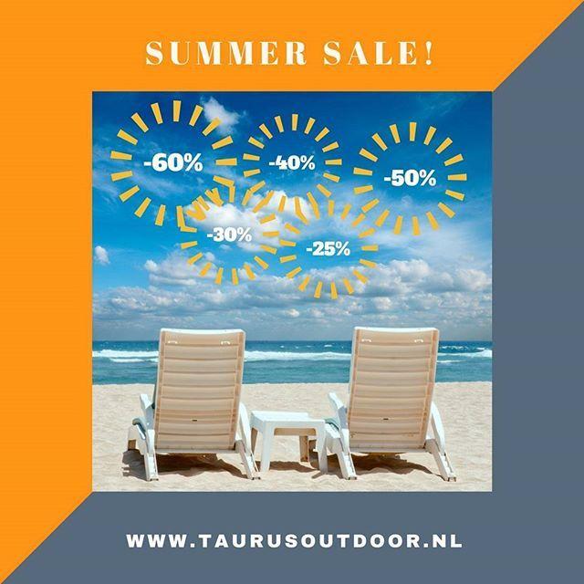 Wij zijn gestart met de SUMMERSALE! Prettige vakanties! #taurusoutdoor #sportkleding #outdoorkleding #wandelkleding #karitraa #montane #blackdiamond #lasportiva #taurusoutdoor #sale #summersale