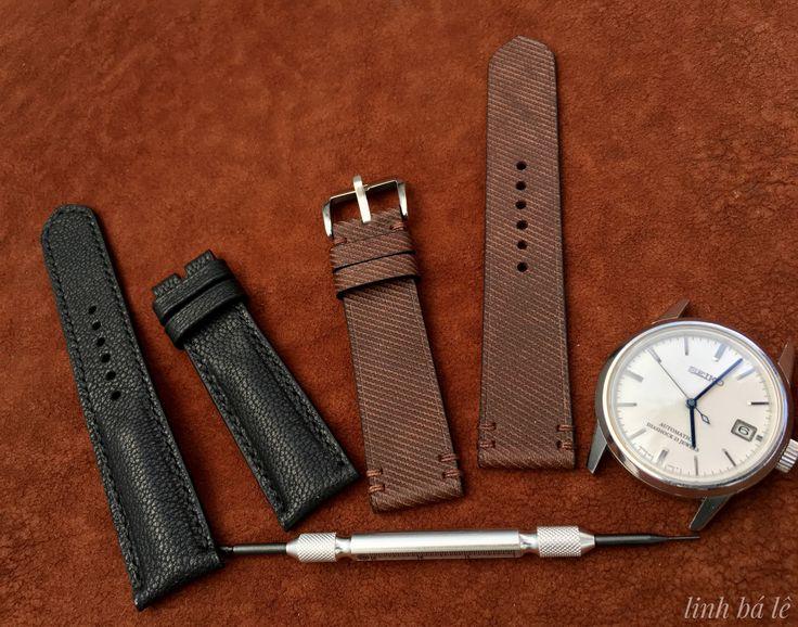 Scvs013 leather HandMade strap
