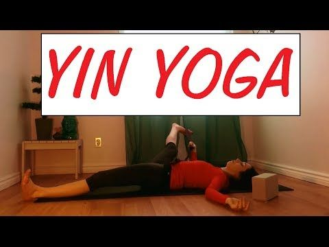 1 Hour Yin Yoga Full Class---Yin is best for full relaxation and restoration.