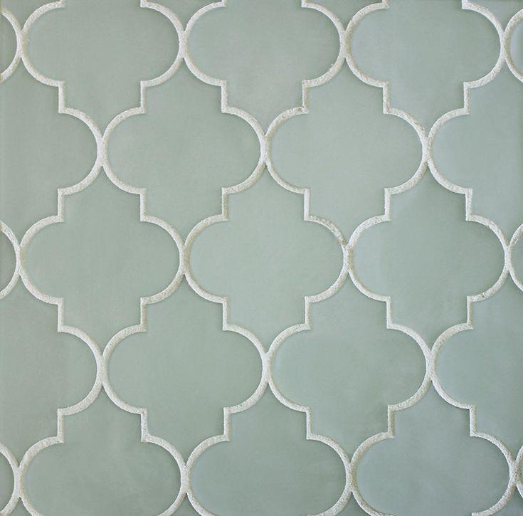 arabesque tile backsplash white beveled lantern arabesque