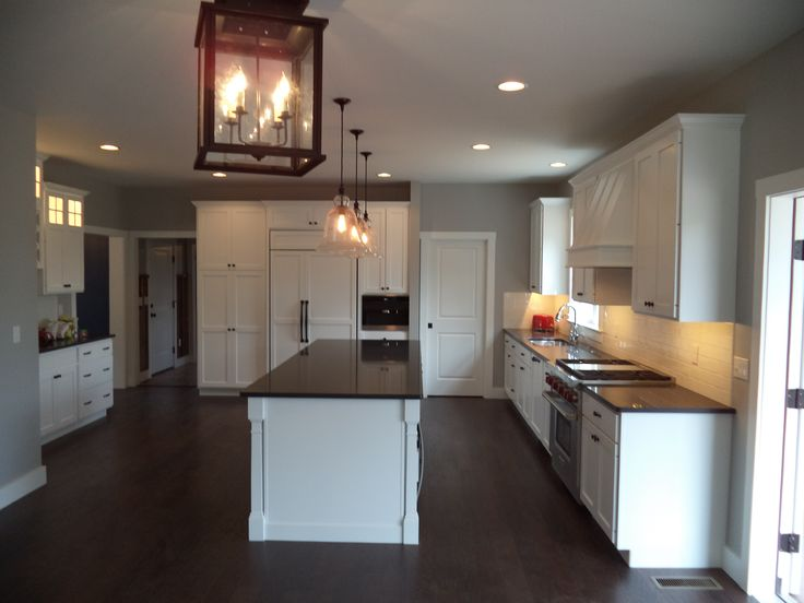 A Customized Kitchen Within A Custom Two Story Home 15 83m Kitchen
