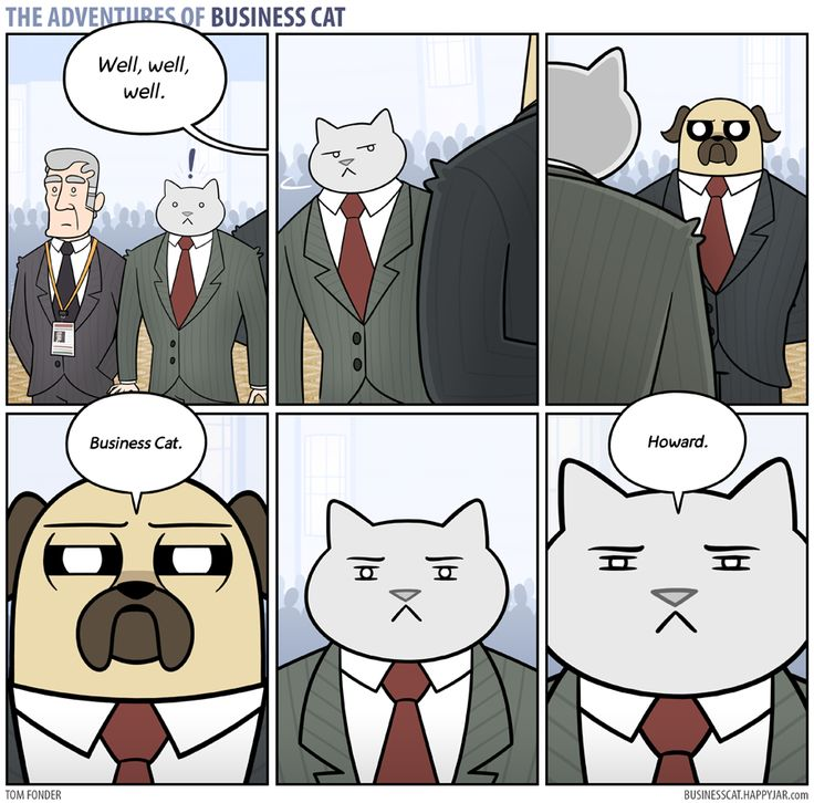 The Adventures of Business Cat - Confrontation by tomfonder.deviantart.com on @DeviantArt