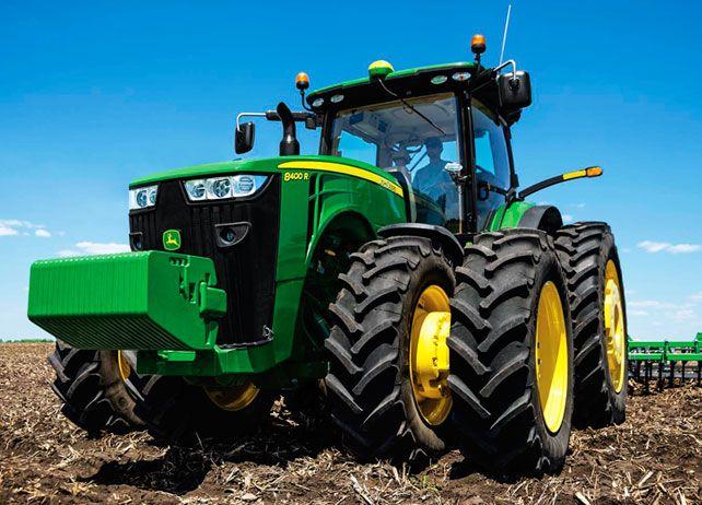John Deere 8400R Wheel Tractor | Row-Crop Tractors | John Deere US