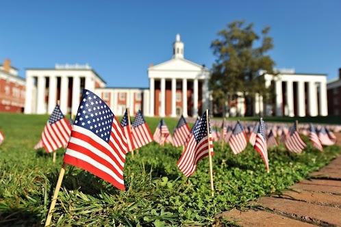 Patriotism on display at Washington & Lee University