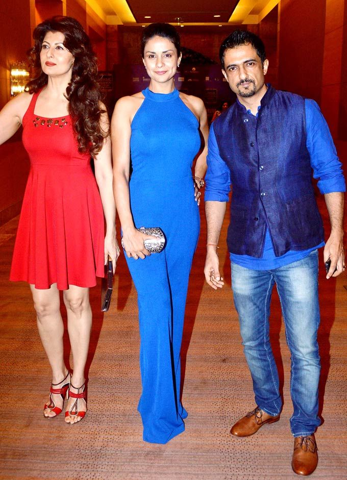 Sangeeta Bijlani, Gul Panag and Sanjay Suri at Lakme Fashion Week - Day 3. #Bollywood #Style #Fashion #LFW
