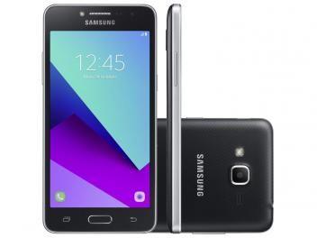 """Smartphone Samsung Galaxy J2 Prime TV 8GB Preto - Dual Chip 4G Câm. 8MP + Selfie 5MP Tela 5"""" qHD    R$ 649,90 em até 7x de R$ 92,84 sem juros no cartão de crédito"""