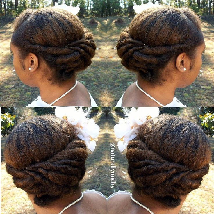 """naturallymichyLetter """"N """" from the ABC Protective Style Series featured on my YouTube Channel. See Bio for link.  #teamnatural #naturalhair #protectivestyles"""