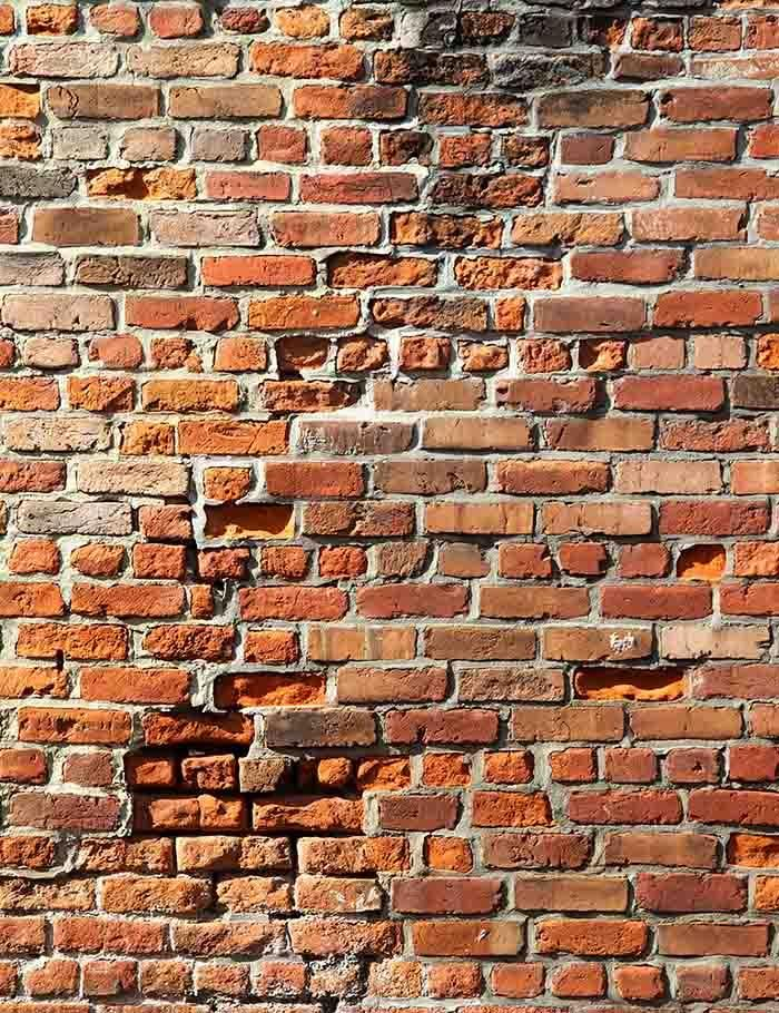 Shabby Red Brick Wall Texture Backdrop For Photography Brick