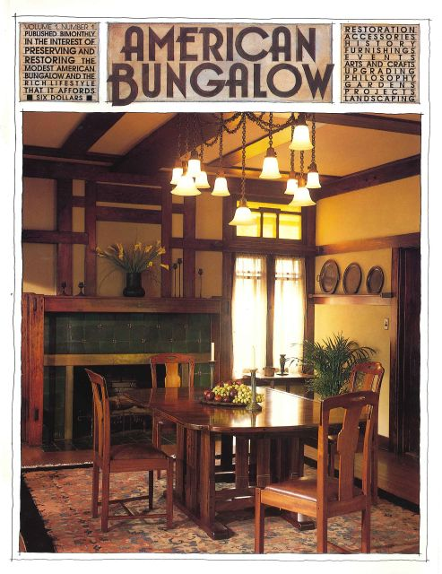 1000 images about bungalow arts crafts craftsman - Arts and crafts bungalow interiors ...