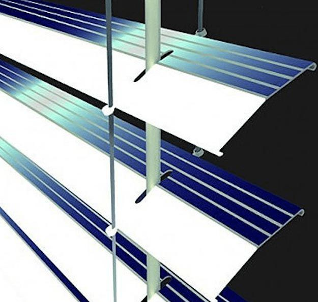 Solar Lighting Window Blinds   Cool Solar Powered Inventions