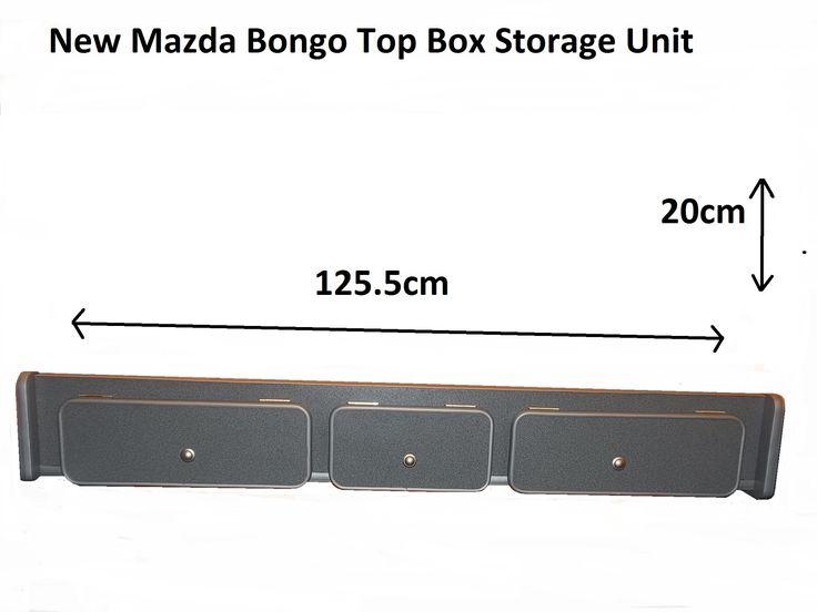 Mazda Bongo TopBox Storage Unit