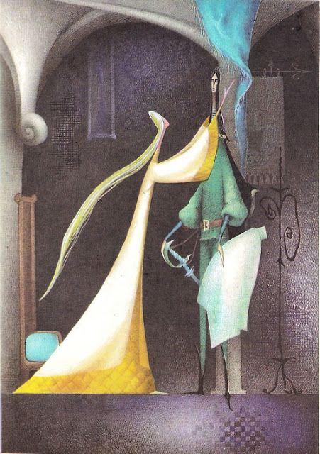 "Adriana Mihailescu illustration for ""Legenda Funigeilor""."