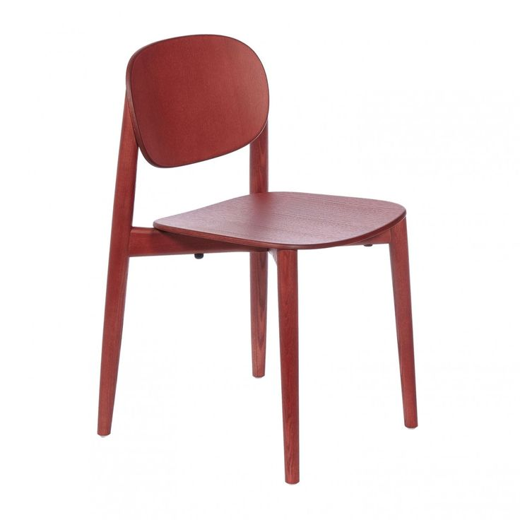Die besten 25+ Rote stühle Ideen auf Pinterest Stuhl - küchenstuhl weiß holz