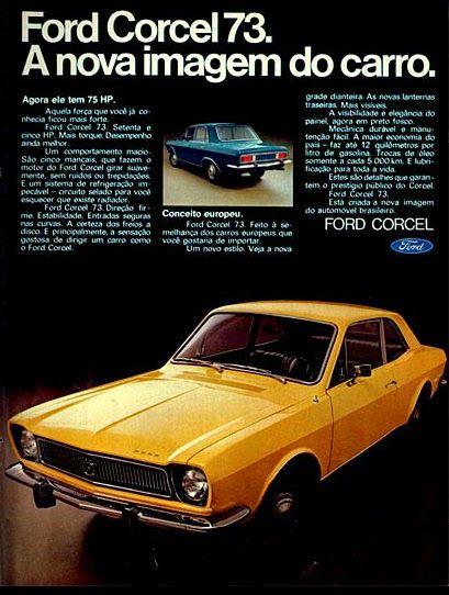 Anúncio Ford Corcel - 1972