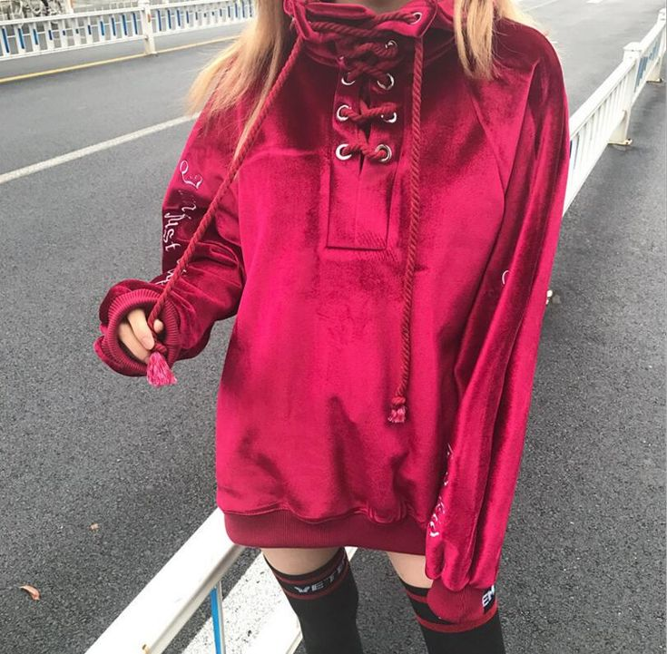 Find More Hoodies & Sweatshirts Information about Spring Autumn Style Velvet Letter embroidery Women Hoodies Long Sleeve Pullovers Sexy Lace up Turtleneck Sweatshirt For Women,High Quality Hoodies & Sweatshirts from JOYINPARTYCHIC Store on Aliexpress.com