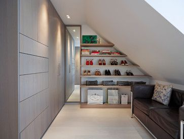 Muswell Hill 2014 - contemporary - Wardrobe - London - Gregory Phillips Architects