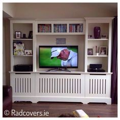 tv unit with radiator - Google Search