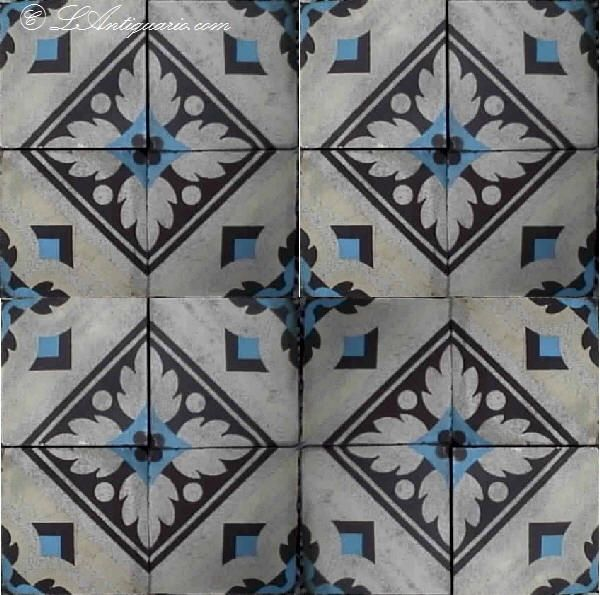 antique tile sample