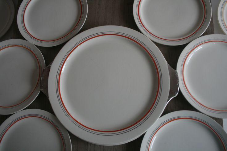 Vintage gebakstel van Boch