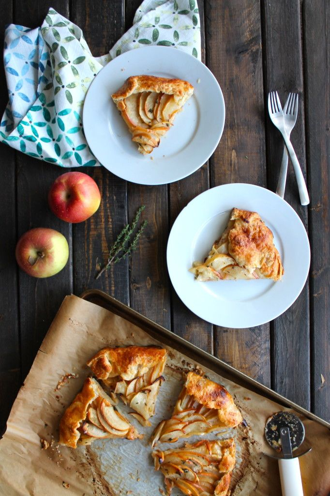 Apple Galette with Brown Butter and Thyme