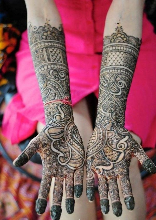 Bridal Mehndi Designs 2014 | Latest Popular Bridal Mehndi Designs 2014