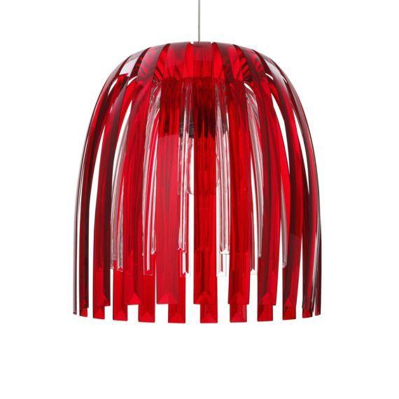 Lampa wisząca czerwona JOSEPHINE ROYAL
