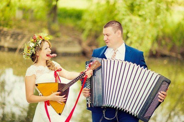 Развеселая свадьба!