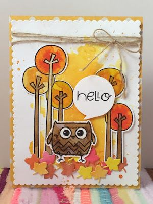 Hello card by Jennie May - Paper Smooches
