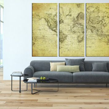 18 best world maps images on Pinterest Maps, Old maps and World maps - copy rainbow world map canvas