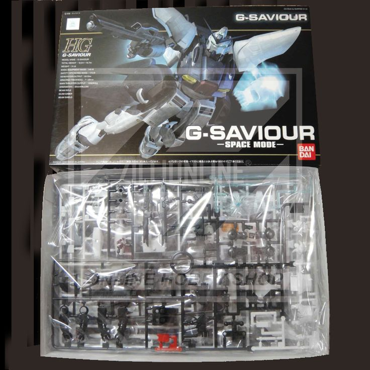 [MODEL-KIT] HG 1/144 - G-SAVIOUR [SPACE MODE]. Item Size/Weight : 29.1 x 19.1 x 6.3 cm / 259g. (*ITEM SIZE & WEIGHT BEFORE PACKAGED). Condition: MINT / NEW & SEALED RUNNER. Made by BANDAI.