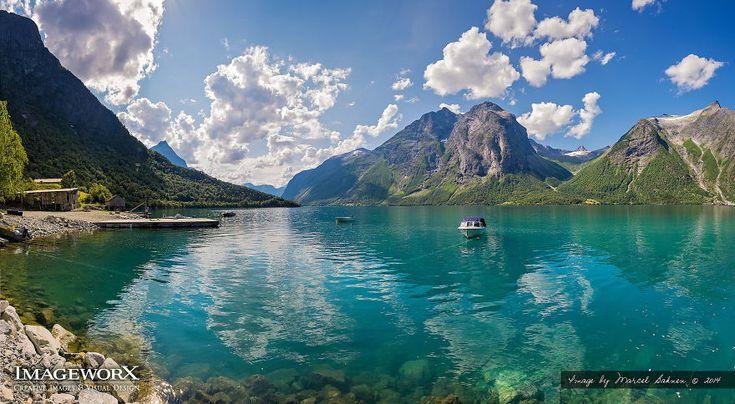 Eikesdalsvatnet, Møre Og Romsdal, norway