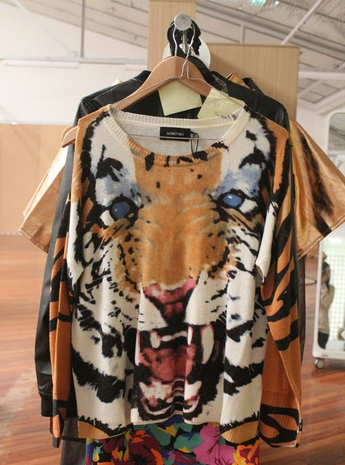 Minkpink tigers eye sweater