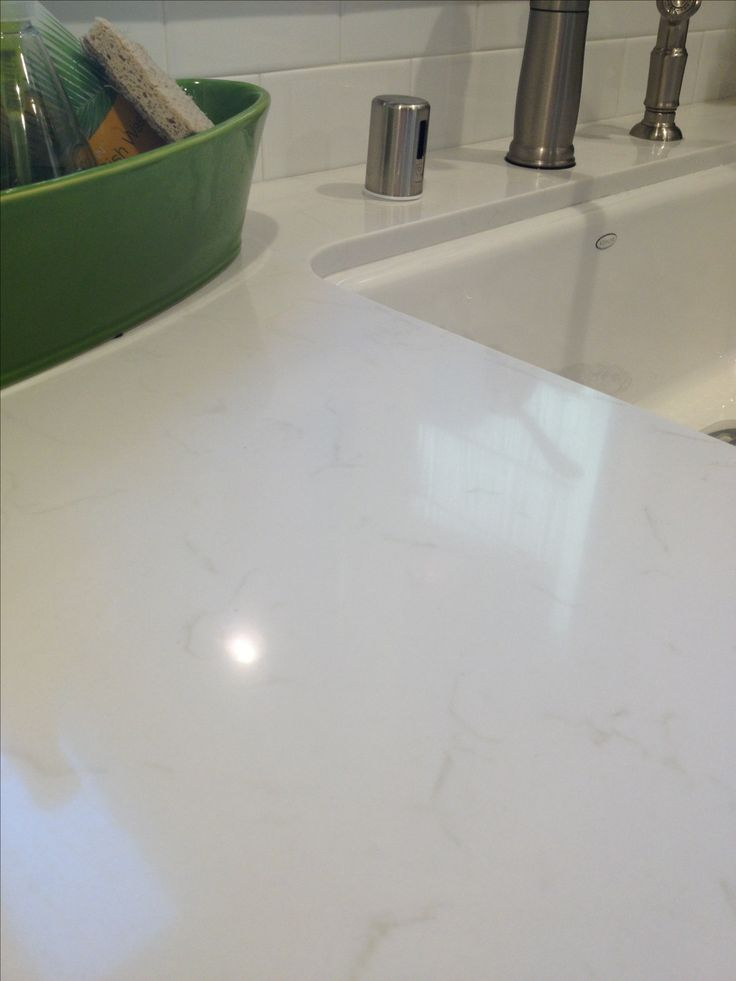 White Bathroom Countertops