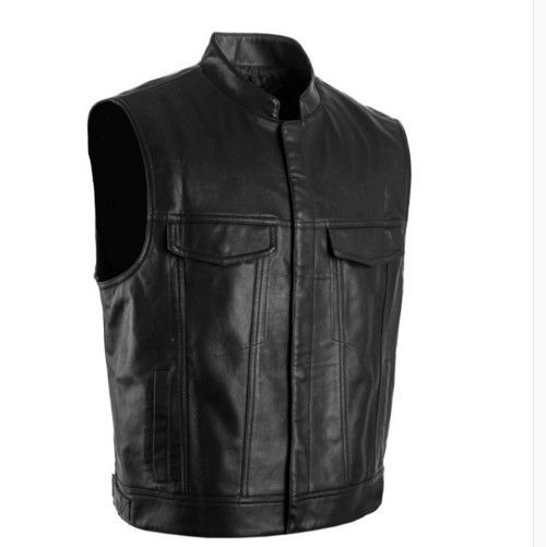 Check it on our site Wholesale Son of Anarchy Faux Leather Embroidered Official Vest Cut SOA Patch & Rocker without Patchjacket just only $30.22 - 31.95 with free shipping worldwide  #jacketscoatsformen Plese click on picture to see our special price for you